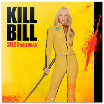Kill Bill naptár 2021