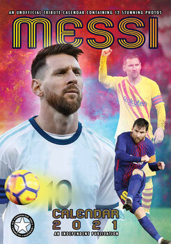 Lionel Messi naptár 2021