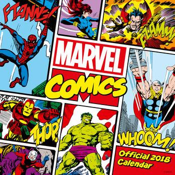 Marvel Comics Classics naptár 2018