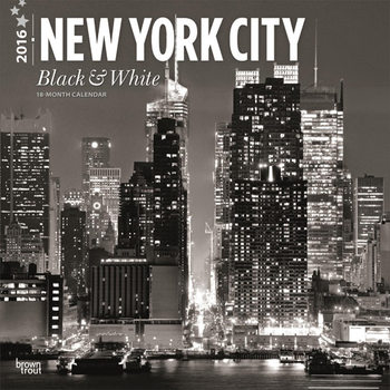 New York - Black & White naptár 2018