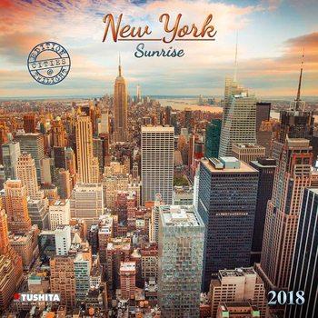 New York Sunrise naptár 2018