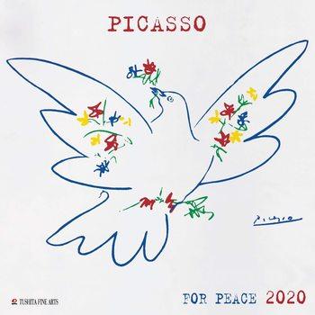 P. Picasso - War and Peace naptár 2020