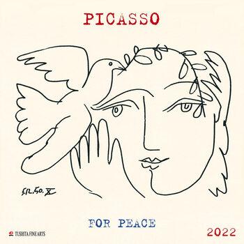 Pablo Picasso - War and Peace naptár 2022