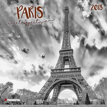 Paris Retrospective naptár 2018