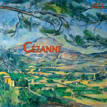 Paul Cezanne naptár 2022