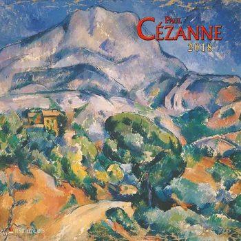 Paul Cezanne naptár 2020
