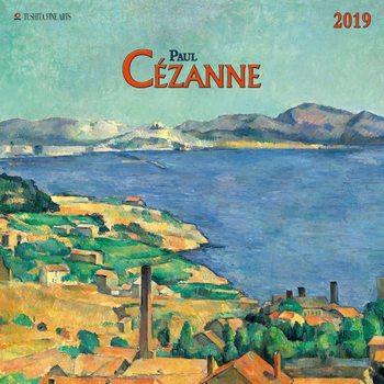 Paul Cezanne naptár 2019