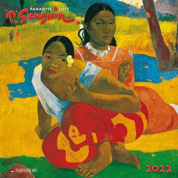 Paul Gaugin - Paradise Lost naptár 2022