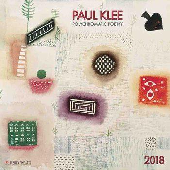 Paul Klee - Polychromatic Poetry naptár 2020
