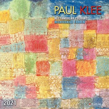 Paul Klee - Rectangular Colours naptár 2021