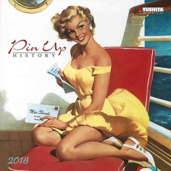 Pin Up History naptár 2018