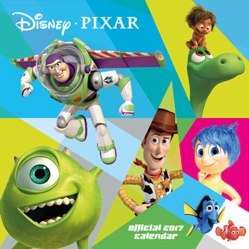 Pixar naptár 2017