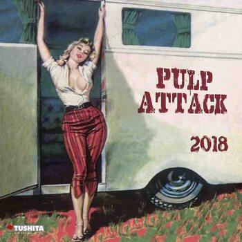 Pulp Attack naptár 2018