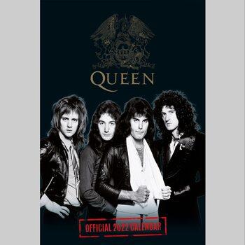 Queen naptár 2022