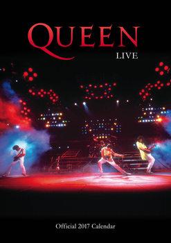 Queen naptár 2017