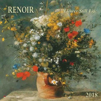 Renoir - Flowers naptár 2020