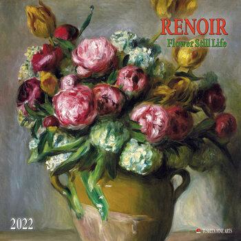 Renoir - Flowers Still Life naptár 2022