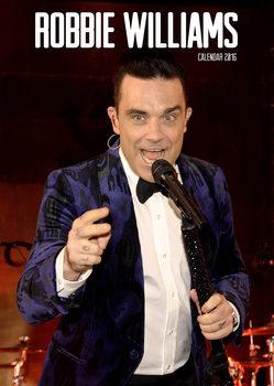Robbie Williams naptár 2017