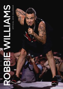 Robbie Williams naptár 2019