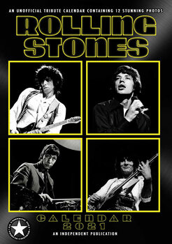 Rolling Stones naptár 2021