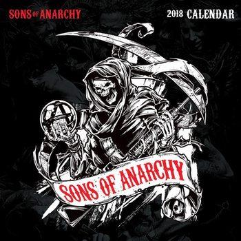 Sons Of Anarchy naptár 2018