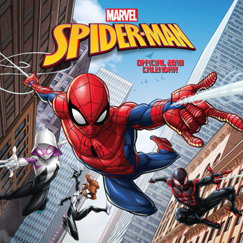 Spiderman naptár 2018