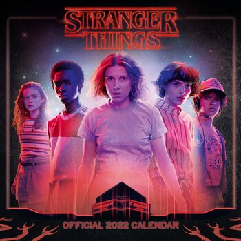 Stranger Things naptár 2022