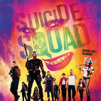 Suicide Squad - Öngyilkos osztag  naptár 2017