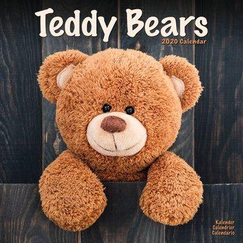 Teddy Bears naptár 2020