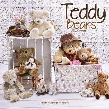 Teddy Bears naptár 2021