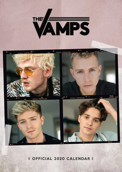 The Vamps naptár 2020