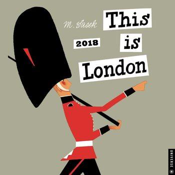 This is London naptár 2018