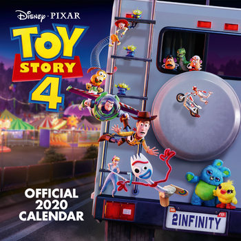 Toy Story 4 naptár 2020