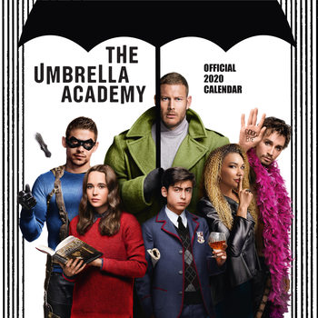 Umbrela Academy naptár 2020