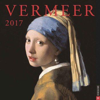 Vermeer naptár 2017