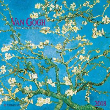 Vincent van Gogh - From Vincent's Garden naptár 2018