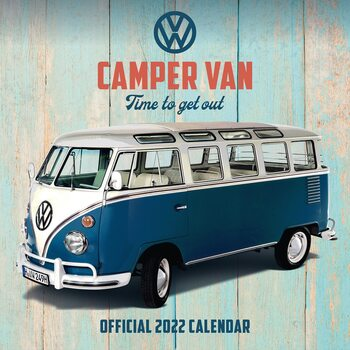 VW Camper Vans naptár 2022