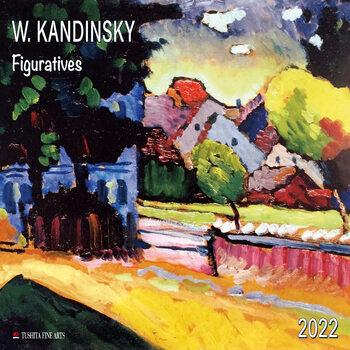 Wassily Kandinsky - Figuratives naptár 2022