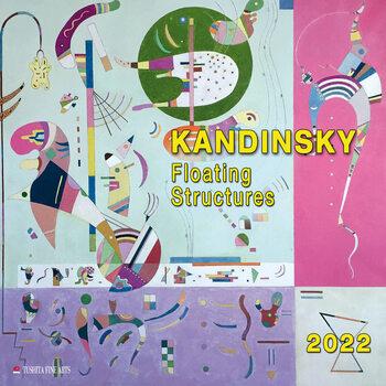 Wassily Kandinsky - Floating Structures naptár 2022