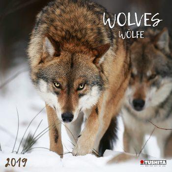 Wolves naptár 2019