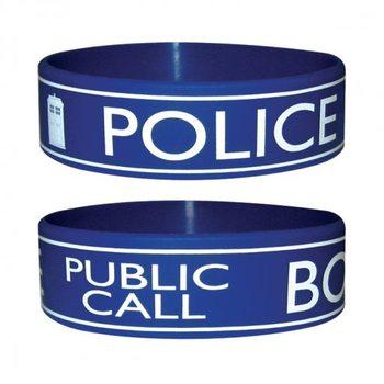 DOCTOR WHO - police Náramek