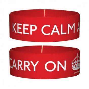 KEEP CALM AND CARRY Náramek