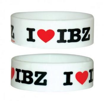 LOVE IBIZA Náramok silikonove