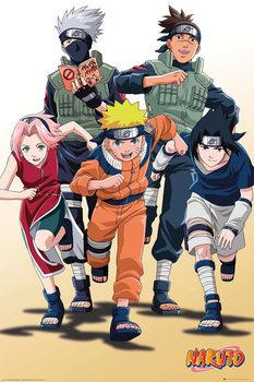 Naruto - Run - плакат (poster)