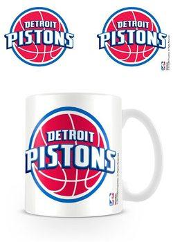 Hrnek NBA - Detroit Pistons Logo