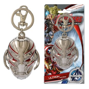 Avengers - Ultron Head Nøglering