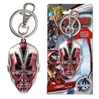 Avengers - Vision Head Nøglering