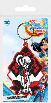 DC Super Hero Girls - Harley Quinn Nøglering
