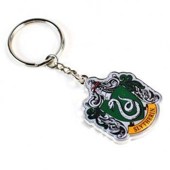 Nøglering Harry Potter - Slytherin Crest