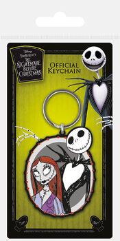 Nightmare Before Christmas - Jack & Sally Nøglering